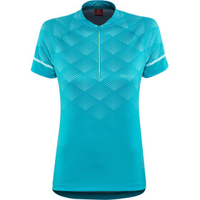 Löffler Jessy Bike Shirt Half-Zip Damen topazblue